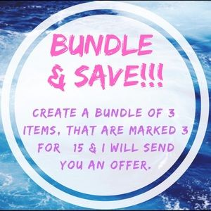 Accessories - Bundle and Save on Items marked 3 for $15